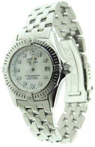 Breitling Breitling Callistino A72345 Diamond MOP Stainless Steel Date 29mm Watc