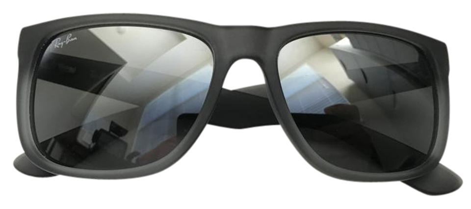 c566845a3a Ray-Ban Grey   Silver Mirror Rb4165 54 Justin Gradient Collection Sunglasses