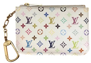 Louis Vuitton Louis Vuitton Multicolor Monogram White Key Cles