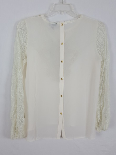 ces femme M Tunic M Top Ivory and light gold Image 1