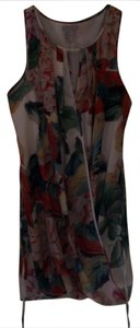 H&M short dress floral multi on Tradesy