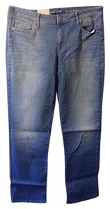 Calvin Klein Straight Leg Jeans-Light Wash