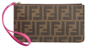 Fendi Wristlet in Cyclamen