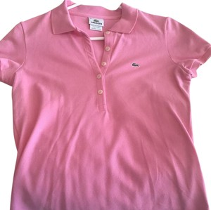 Lacoste Button Down Shirt Bubble Gum Pink