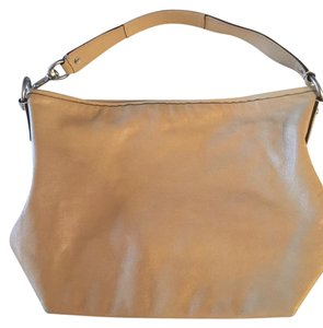 Coach Tan Leather Hobo Bag