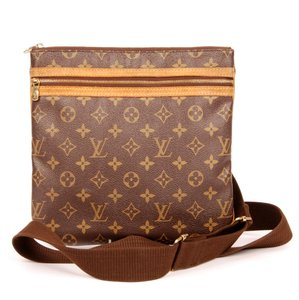 Louis Vuitton Bosphore Canvas Monogram Cross Body Bag