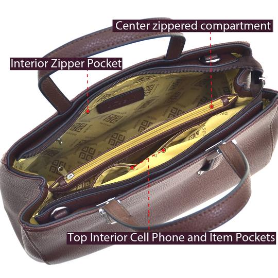 Other The Treasured Hippie Work Bags Large Handbags Designer Inspired Affordable Handbags Tote in Metallic Silver Image 6