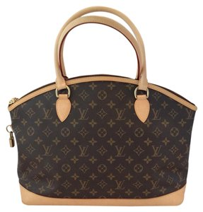 Louis Vuitton Lockit Tote in Brown