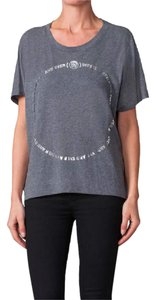 Diesel T-hanna Tee Forever And Ever T Shirt Gray