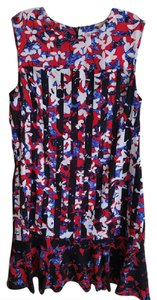 Peter Pilotto for Target short dress Red flower print on Tradesy