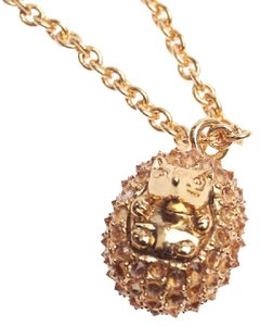 Kate Spade NEW kate spade Into the Woods Hedgehog Pendant Necklace - 12k
