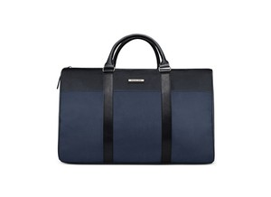 Michael Kors Duffle Zip Top Brand New Geniune Navy And Black Travel Bag