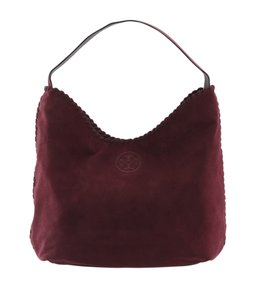 Tory Burch Suede Hobo Bag