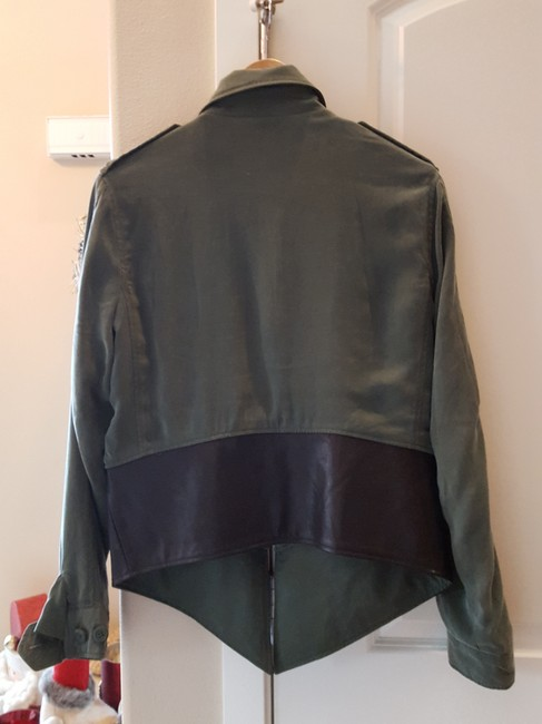 BB Dakota Gucci Nikey Adidas Lululemon Green/black Jacket Image 4