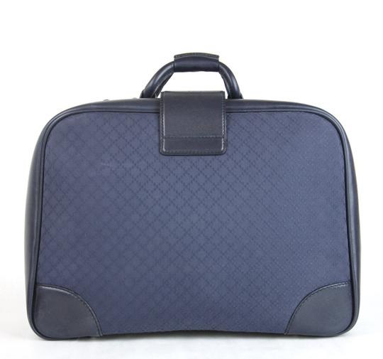 Gucci Duffle Carry On Blue Travel Bag Image 3