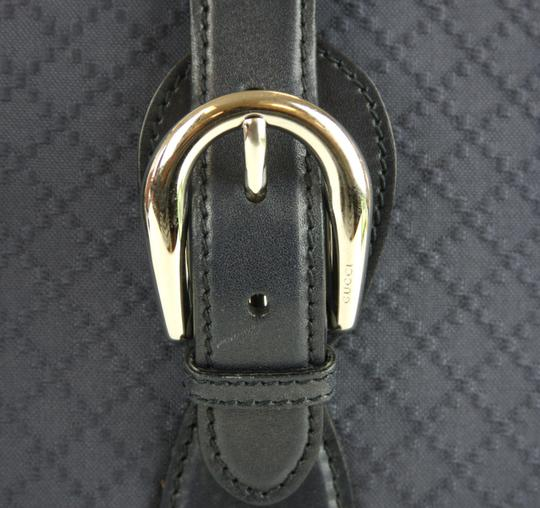 Gucci Duffle Carry On Blue Travel Bag Image 4