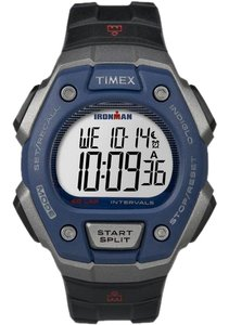 Timex TW5K86000 Unisex Black Plastic Bracelet With Grey Digital Dial