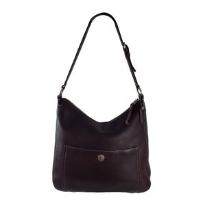 Coach Pebbled Leather Vintage Hobo Bag
