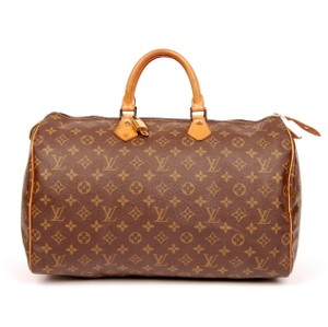 Louis Vuitton Speedy 40 Speedy Satchel in Monogram
