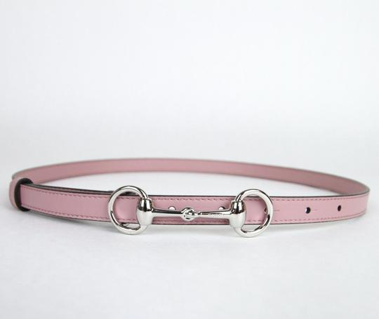Gucci Thin Skinny w/Horsebit Buckle 282349 Light Pink Leather/5812 95/38 Image 1