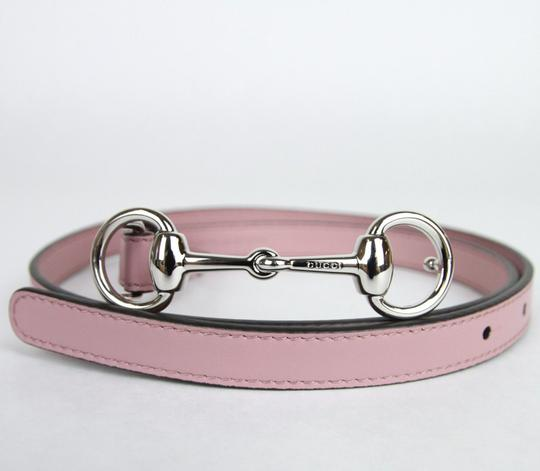 Gucci Thin Skinny w/Horsebit Buckle 282349 Light Pink Leather/5812 95/38 Image 2