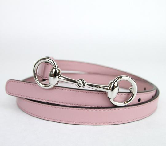 Gucci Thin Skinny w/Horsebit Buckle 282349 Light Pink Leather/5812 95/38 Image 3