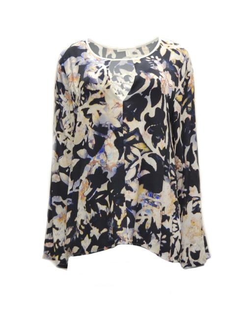 Flowers Of Romance Feminine Floral Top multi color Image 0