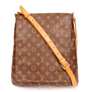 Louis Vuitton Musette Salsa Monogram Canvas Leather Cross Body Bag