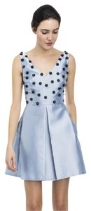 Cynthia Rowley Party Prom Flower Beaded Dress