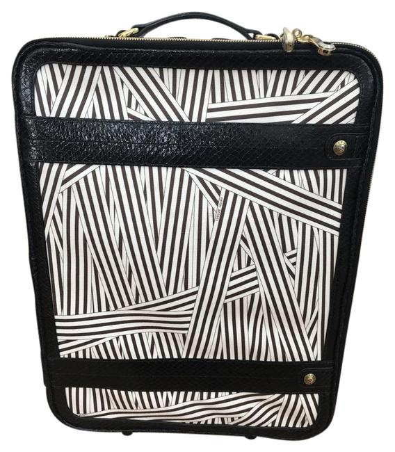 Item - Wheelie Black White Weekend/Travel Bag