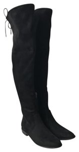 Marc Fisher Over The Knee Otk Faux Suede Black Boots