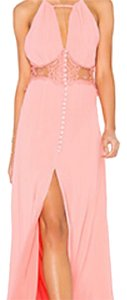pink Maxi Dress by Jarlo