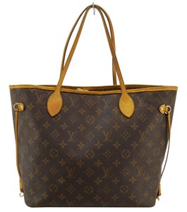 Louis Vuitton Lv Neverfull Mm Monogram Tote