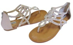 Not Rated Brand New Box Size 8.00 M Padded Footbed Excellent Condition Neutral, Flats
