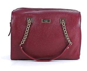 Kate Spade New York Sedgewick Lane Kensey Leather Satchel in Braised Plum