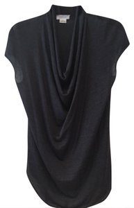 Barneys New York Top CHARCOAL GREY