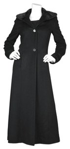 Giuliana Teso Mink Fur Cashmere Over Coat