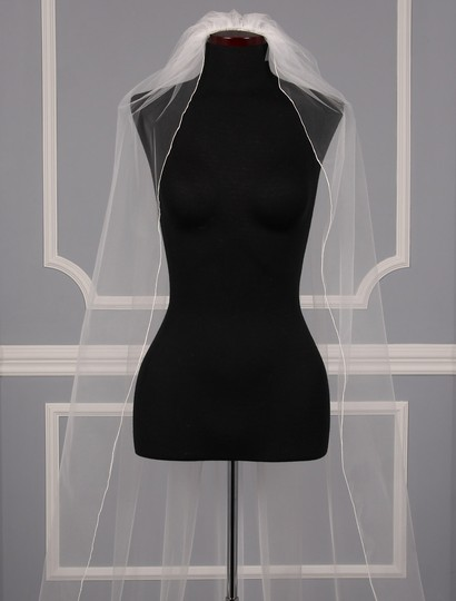 Diamond White Long S582vl Bridal Veil Image 5