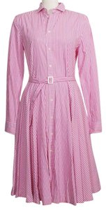 Polo Ralph Lauren short dress Pink White on Tradesy