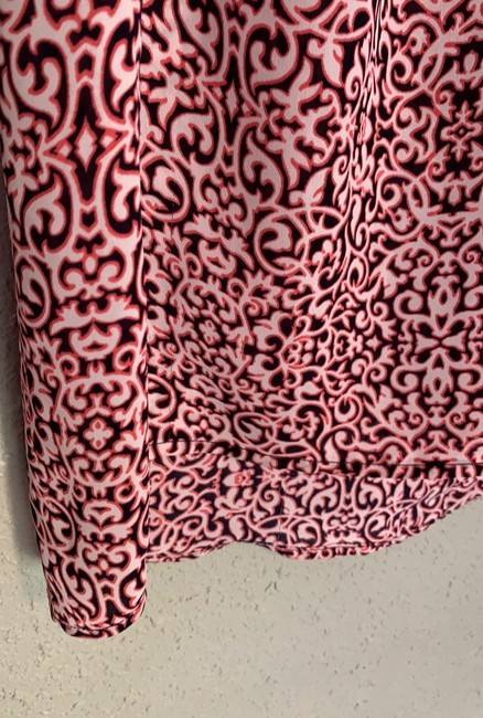 Laundry by Shelli Segal Top pink and black Image 5