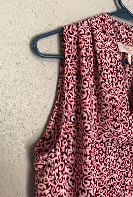 Laundry by Shelli Segal Top pink and black Image 6