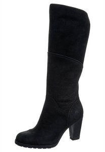 Timberland Dress Casual Chunky Heel Winter black Boots