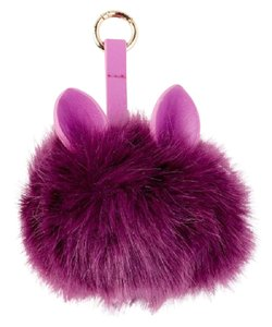 Under One Sky NEW Under One Sky Pom Pom Device Charger Rechargable Battery Bag Charm