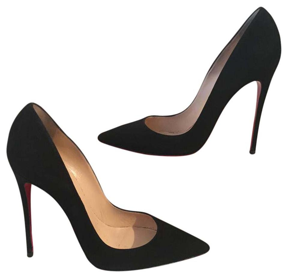 new product 741e0 ac75b So Kate Black Suede 39.5 Pumps