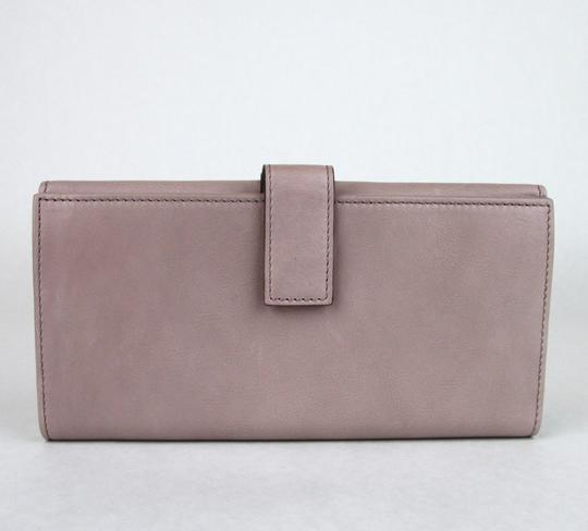 Gucci GUCCI Spur Detail Continental Clutch Leather Wallet Pink 277717 6812 Image 2