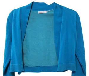 Calvin Klein Blue Long Sleeve Cardigan