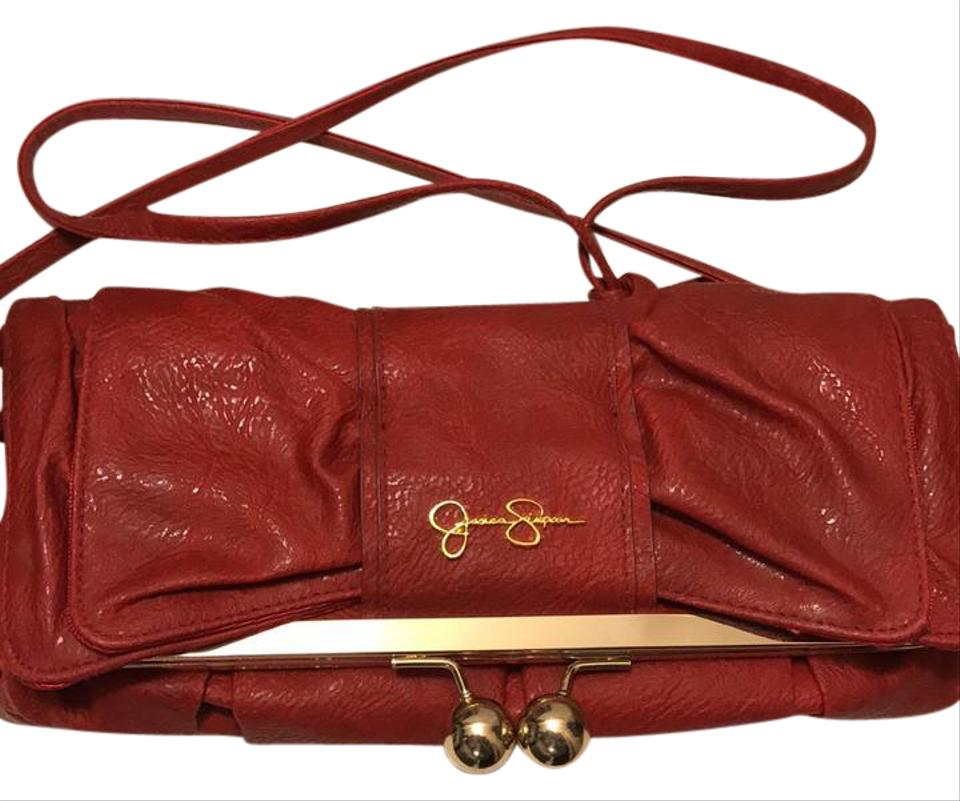 3a93cb7897ee Jessica Simpson Red Cross Body Bag - Tradesy