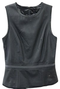 Theory Sleeveless Top Black
