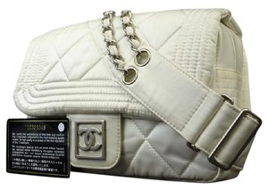 Chanel Cc Logo Quilted Bum Waist Fanny Pack Backpack