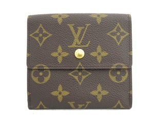 Louis Vuitton Monogram Elise Bifold Coin Pouch Wallet